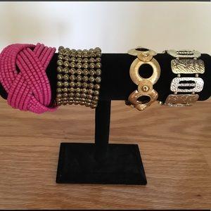 Jewelry - Bundle of fashion bracelets.